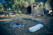 מקום למדורה ואוהל אירוח
