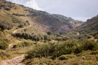 A Dishon völgy keleti irányba