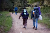 Eytan életében először vesz részt több napos (khm...) hátizsákos túrán